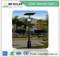 5 years warranty OEM available double lamp powerful solar LED light for garden