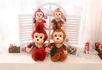 High quality new coming new animals plush stuffed monkey toy