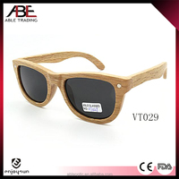 2016 classic simple style UV400 lens italy designer bamboo wooden polarized sunglasses FDA CE