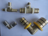 high quality advanced pipe fitting , brass fitting for pex pipe, composited pipe