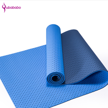 Wholesale yoga mat material rolls breathable gymnastics tpe mat