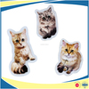 Custom Embroidery with dye Sublimation Cat patches with adhesive backing