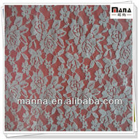 cotton nylon sample lace fabric for dresses