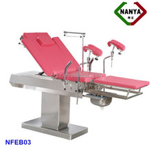 HOT!!! NFEB03 used electric massage table, electric delivery bed