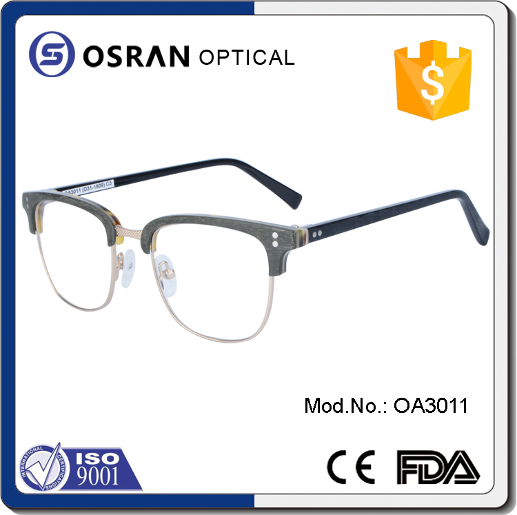 Latest model 2016 acetate stylish eyeglass men eye wear frame