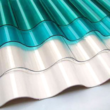 Corrugated Polycarbonate Sheet Plastic Greenhouse Sheet/Swimming Pool Roof