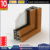 High end European Design Aluminum Clad Wood Hinges Windows With Germany Hardware
