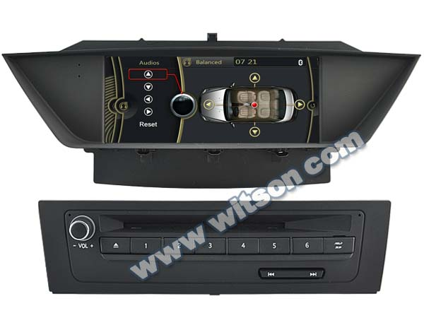WITSON AUTO RADIO FOR BMW X1 DVD GPS A8 Chipset Dual Chipset,3G modem / wifi/ DVR (Option)