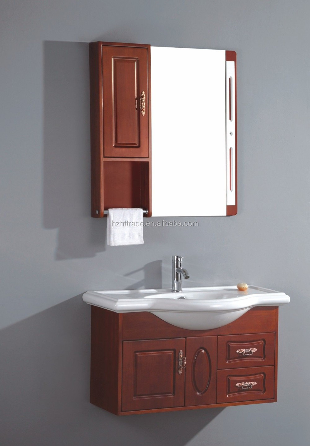 Wall Hung New Sink Makeup Vanity Cheap All Wood Bathroom Vanity Buy All Wood Bathroom Vanity