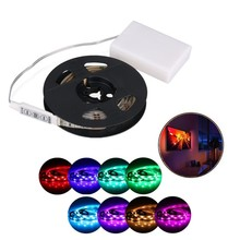 rechargeable aaa 5050 led 12v RGB battery powered Led Strip Addressable LED strip