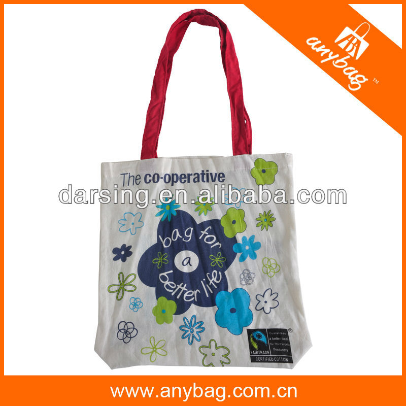 Promotional organic cotton bag 2014