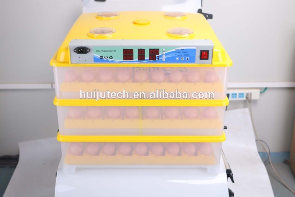 with 196 eggs capacity small mini chicken egg incubator HJ-M196