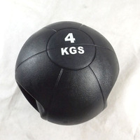 Handle Inflatable Weight Medicine Ball With Two Grips