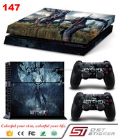 High Quality Vinyl Decal Cover for Sony PlayStation 4 Console Controllers For PS4