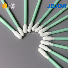 Cleanroom Small Round Tip Polyester Bud Swab For Precise Instrument