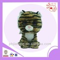 Plush bright eyes cat ,small body toys