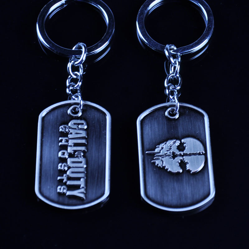 New game Call of Duty Ghosts limited edition key chain metal pendant accessories
