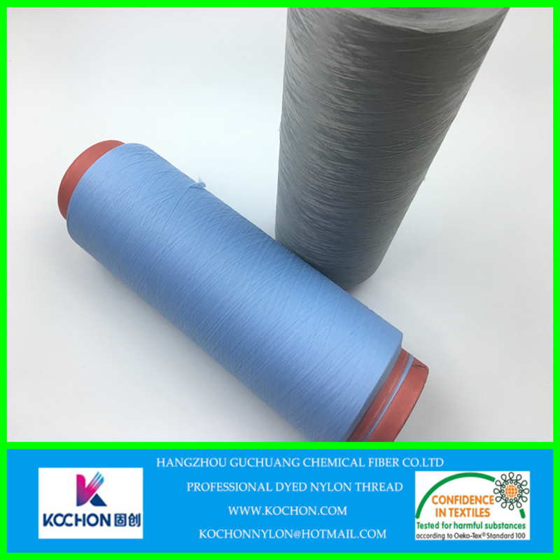 stretch recycled nylon woven yarn