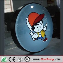 Plastic Covered LED sign moulded to Any Shape Light Box
