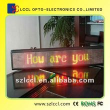 Alphanumeric LED Running Message/Character Display