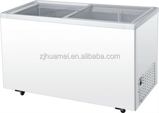 conventional freezer and refrigerator