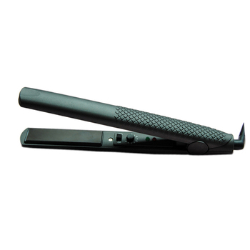 Professional flat iron with temperature control