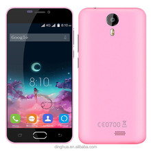 Amazoning Pink Mobile Phones 5.0 inch CDMA GAM Dual Sim Android Smart Phone