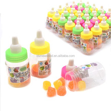 Mini Fruit Juice Gummy Jelly Candy in Baby Nipple Bottle Candy