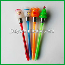 Light up christmas pen