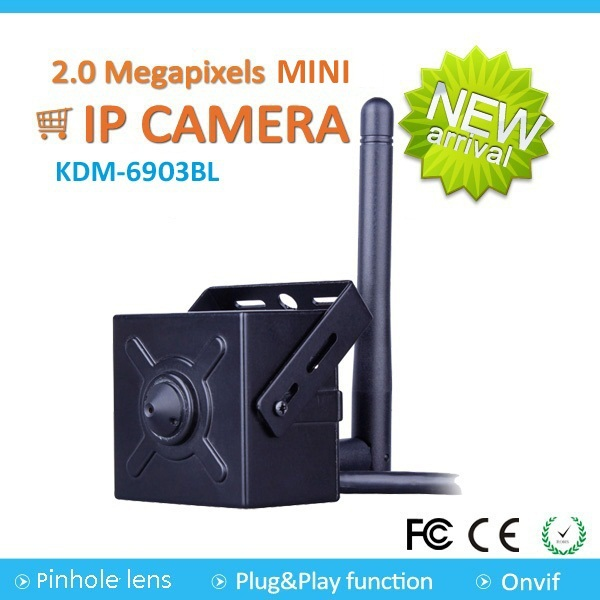 2016 Hottest 2MP <strong>1080p</strong> Mini Wifi IP Camera with iphone app p2p onvif
