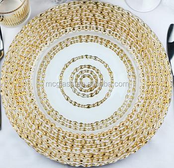 Rent plates wedding