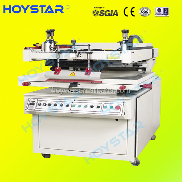 Semi automatic small screen printing machine for PCB flat products