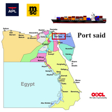 Cargo Shipping to Port Said Egype From China