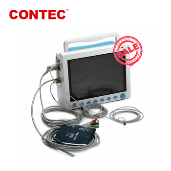 "CONTEC CMS8000 12.1"" TFT LCD Vital Signs Veterinary patient monitor 6 parameters"