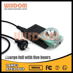 WISDOM LAMP 3A with magnetic USB wire emergency rechargeable light led bicycle light