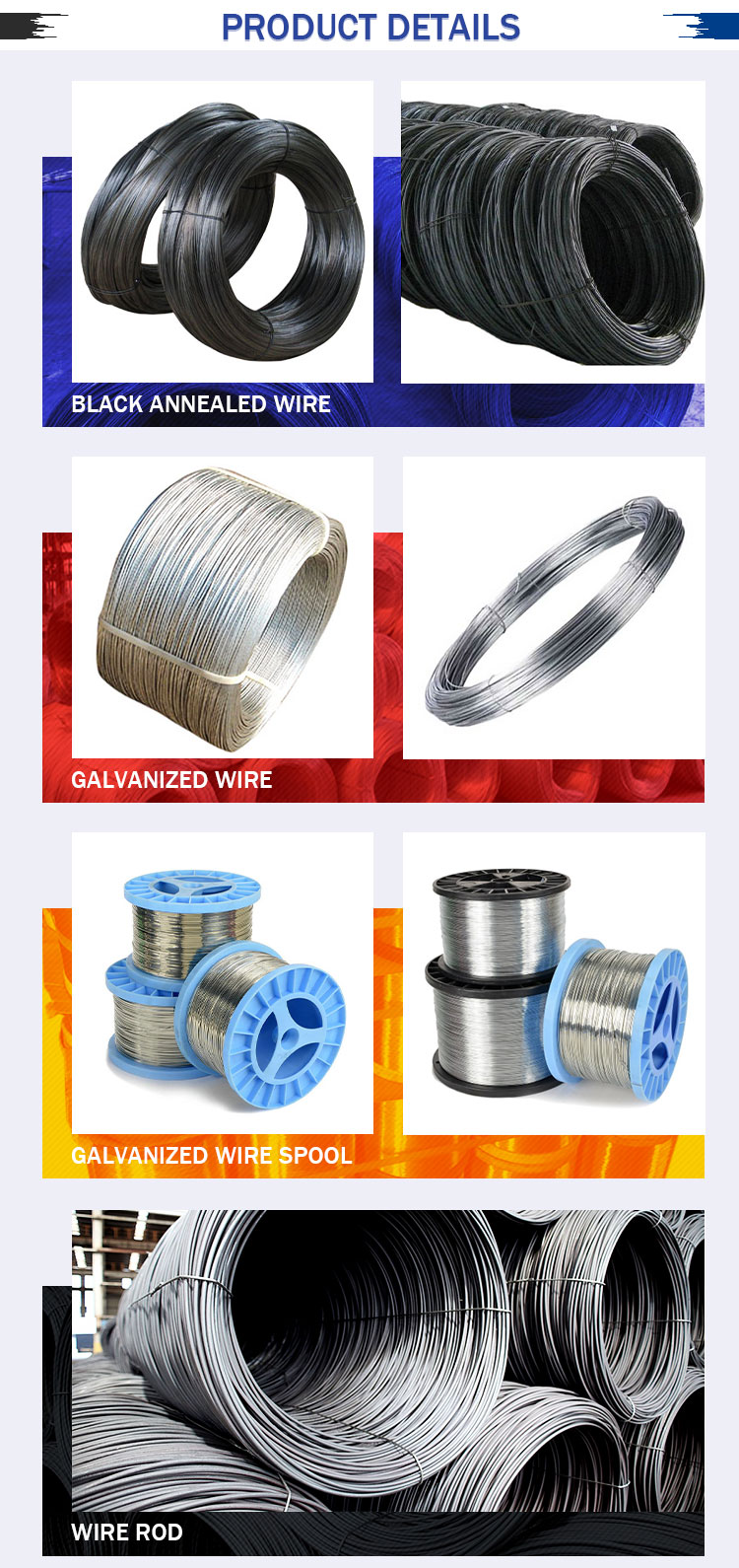 Low Price Galvanized Steel Wire 1.6mm