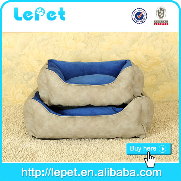 top quality manufacturer wholesale Cotton Stuffed Orthopedic sofa bed luxury pet dog beds
