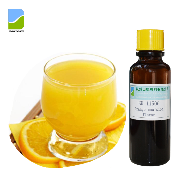 Hot sale <strong>Orange</strong> juice emulsion flavor/fragrances concentrate SD 11506 for dairy products/ beverages /juice