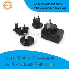 6w usb power adapter with detachable plug