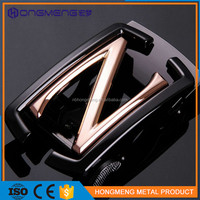 best gifts cut out custom Z buckle,metal safety belt buckle for men