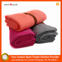 Small Quantity Wholesale Extra Large Manufacturer Soft Fibre Towels Towel With Black Mesh Bag