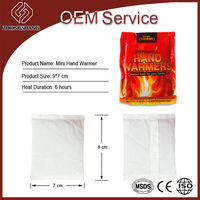 hot sale mini hand warmer with CE/MSDS/ISO oem made in china