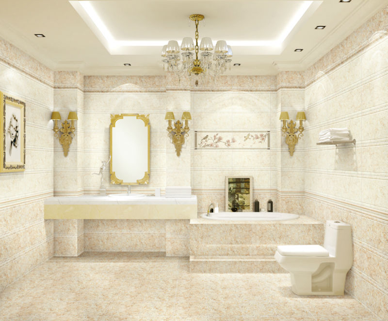 3C external wall tile bathroom marble new products