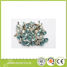 Rivets for Leather Crafts Coloured Stud Decoration Dog Collars Blue Pet Collar Dog Leashes and Collars Dogift0761