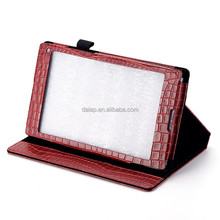 crocodile leather case for ipad mini 7 inch tablet