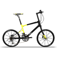 colorful frame mini bike 451# easy riding kids' womens' 16 speed carbon road bicycle with 42CM full carbon frame
