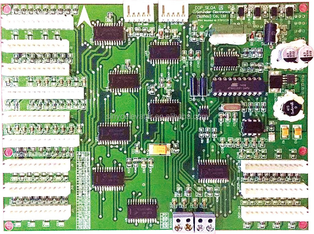 Schindler Elevator PC Board 591657