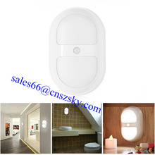 Factory Indoor Light Activated MINI Portable Battery Operated Mini LED Motion Sensor Night Light
