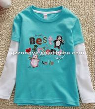 baby & children's clothes, boy's long sleeve t-shirt, printing cotton shirt for kid.kid's appare