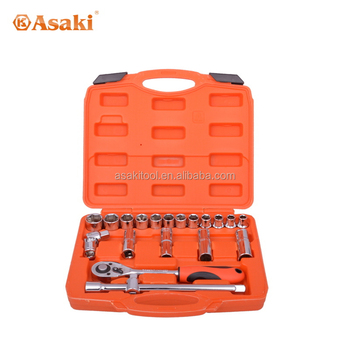 Hot selling hand socket wrench tool set AK-9765